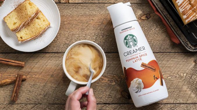 Prepackaged Pumpkin Latte Creamers