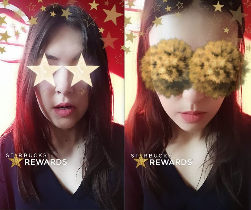Gold Star Snapchat Lenses