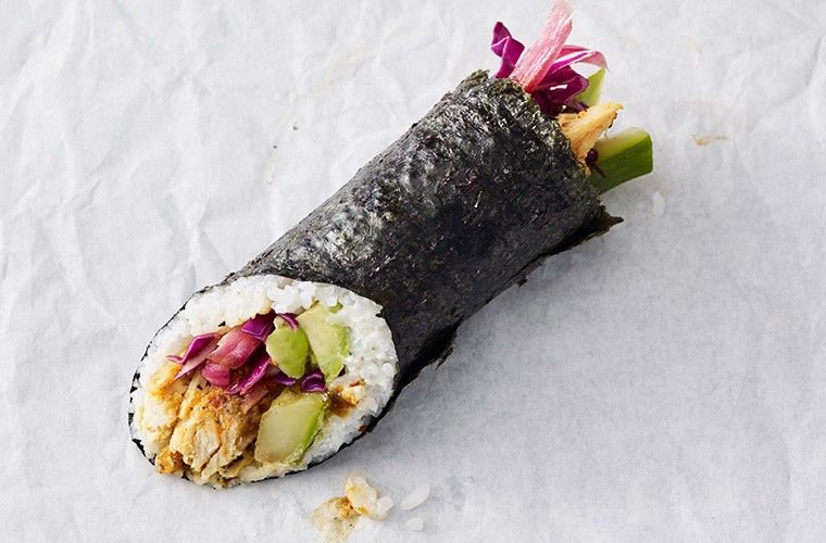 Chicken Sushi Burritos