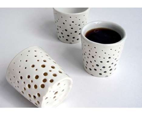 Unique Coffee Mugs For Sale distorted drinking cups : olivet-s concept coffee mugs