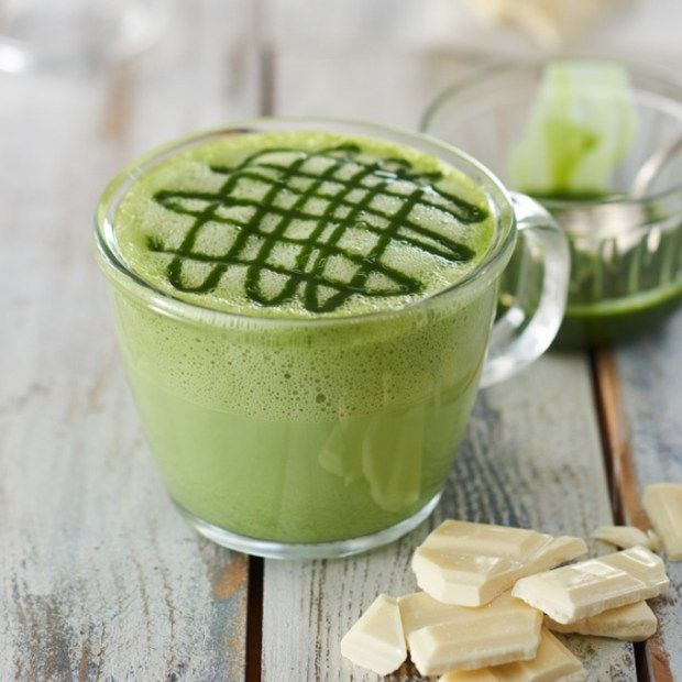 Matcha Hot Chocolate Beverages