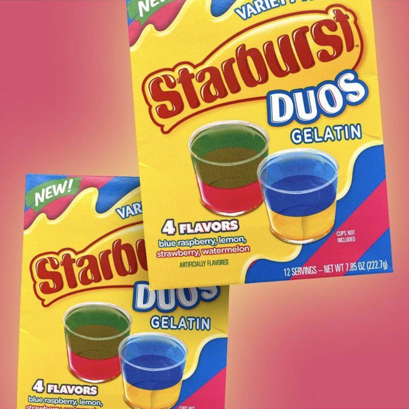 Dual-Flavored Gelatin Snacks