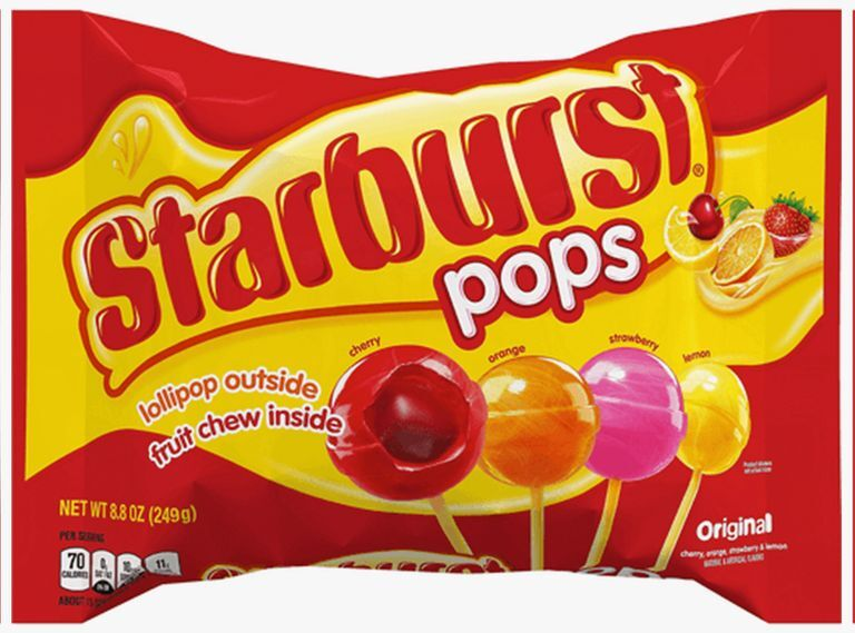 Candy-Filled Lollipops