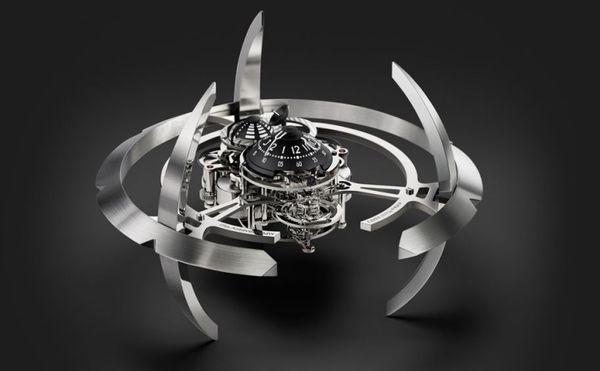Futuristic Galactic Clocks