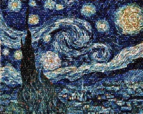 Cosmic Cluster Mosaics