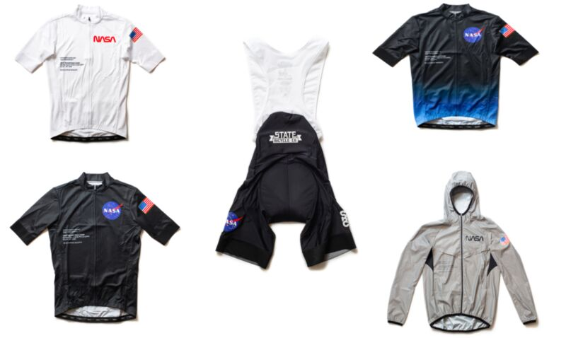 Space-Themed Cycling Apparel