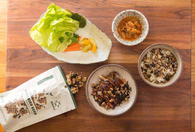 Michelin-Starred Seed Snacks