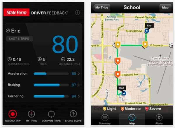 Driver-Monitoring Apps