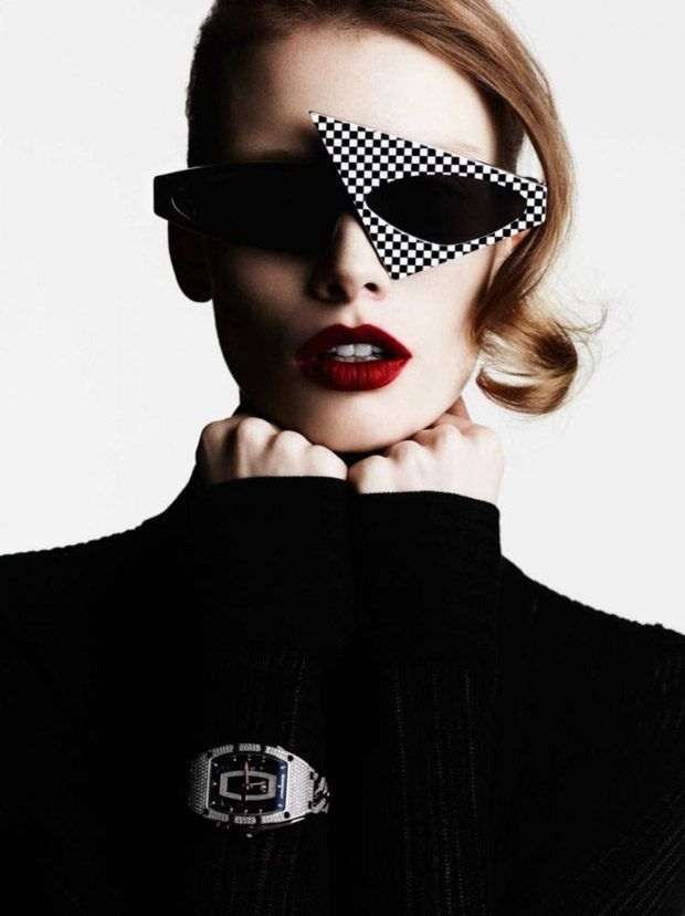 Retro-Modern Statement Eyewear