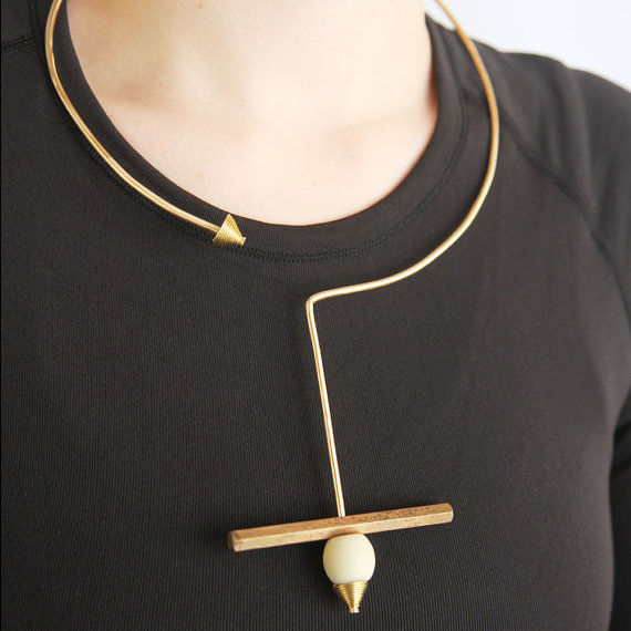 Architectural Statement Necklaces