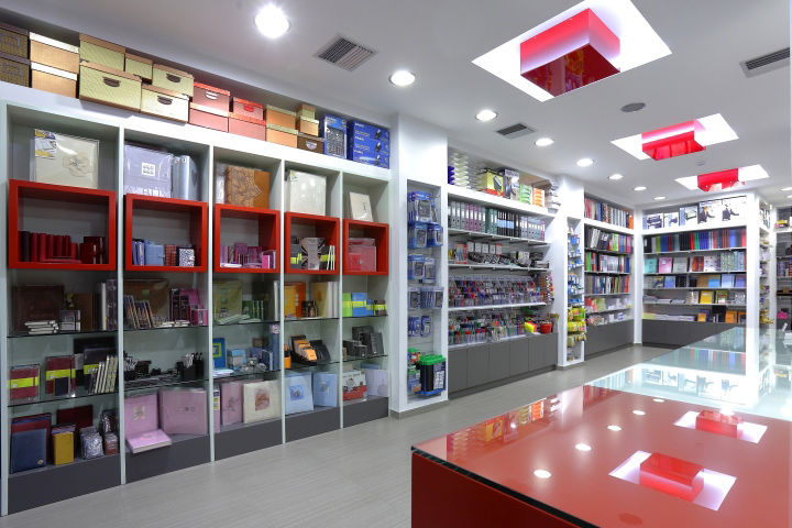 Cubical Stationery Shops Stationery Shop
