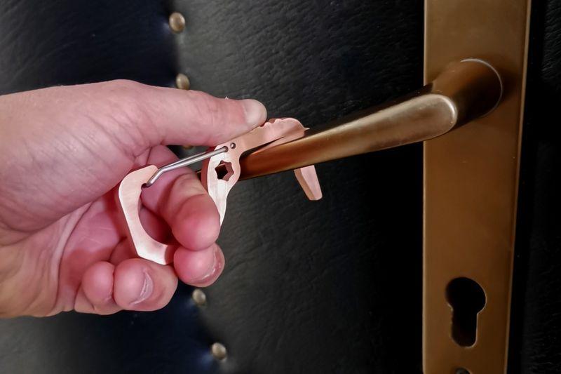 Hygienic EDC Keychains