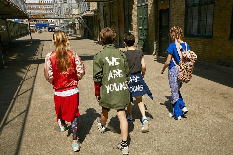 Nostalgic Luxury Kids Clothes