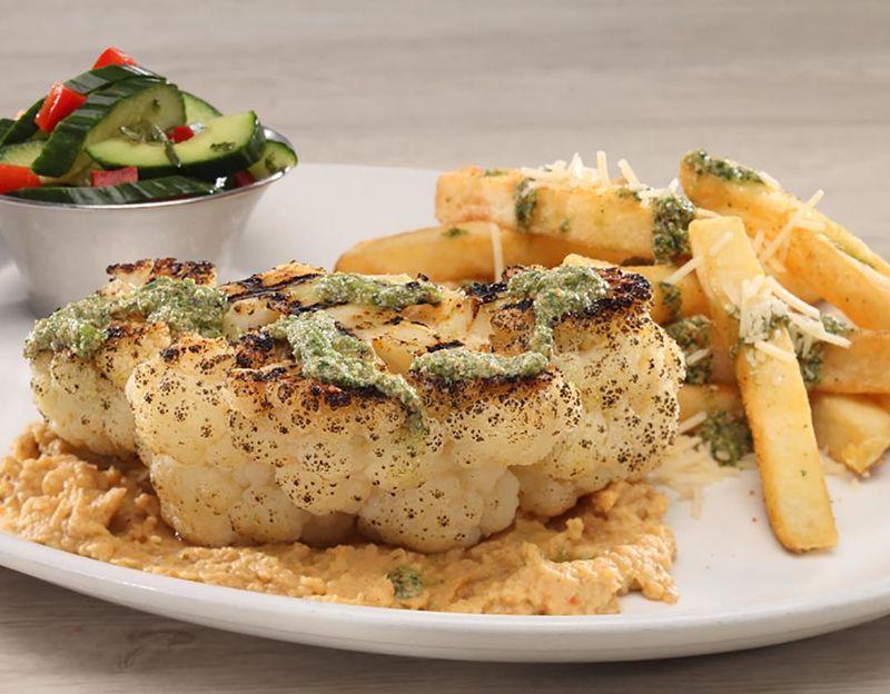 Cauliflower Steak Meals