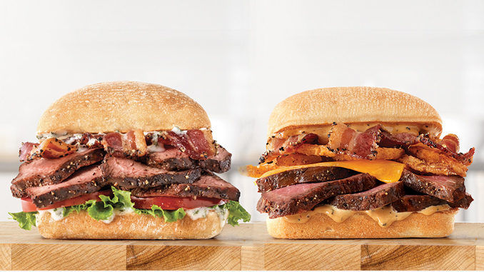 Steakhouse-Inspired QSR Sandwiches