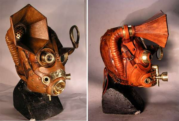 Steampunk Gas Masks