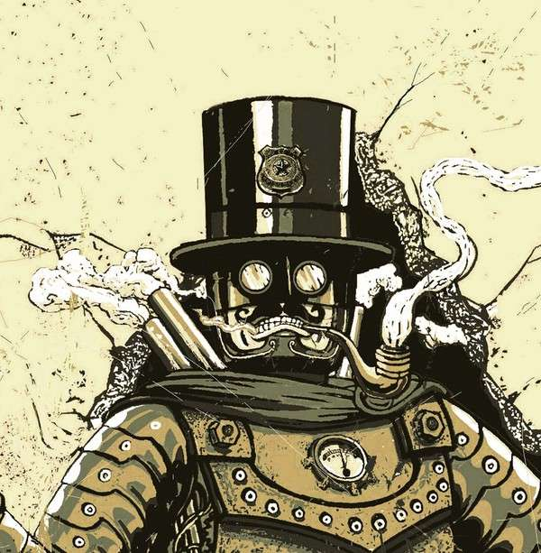 Mechanical Monster Illustrations