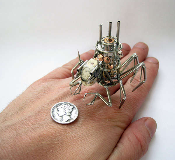 Steampunk Bug Designs