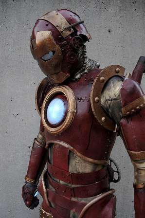 Steampunk Superhero Suits