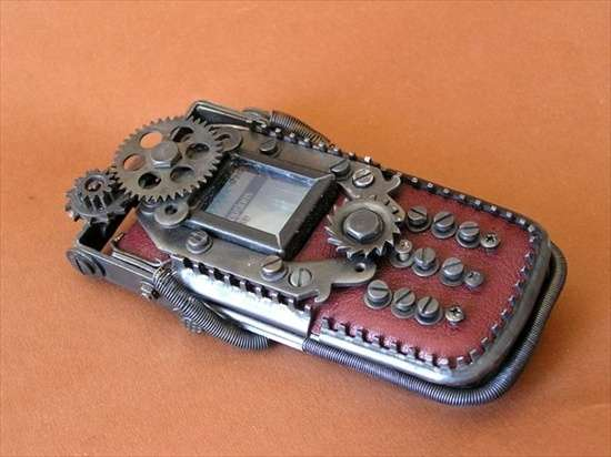 Steampunk Mobile Phones