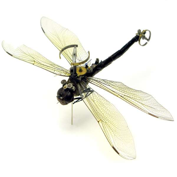 Steampunked Insects
