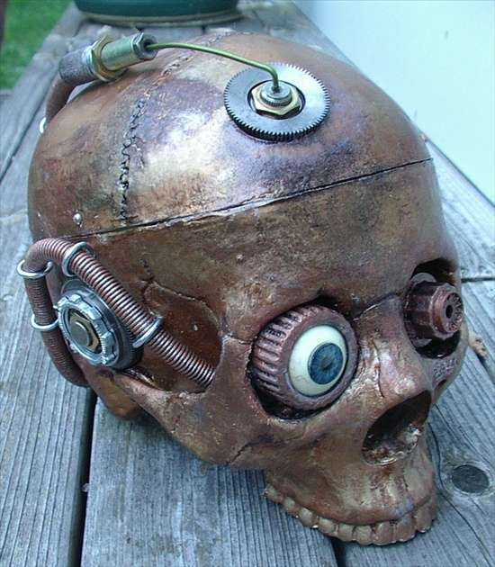 Steampunked Skulls