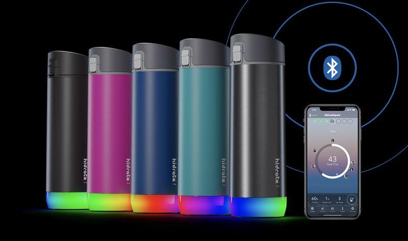 Smart Steel Water Bottles