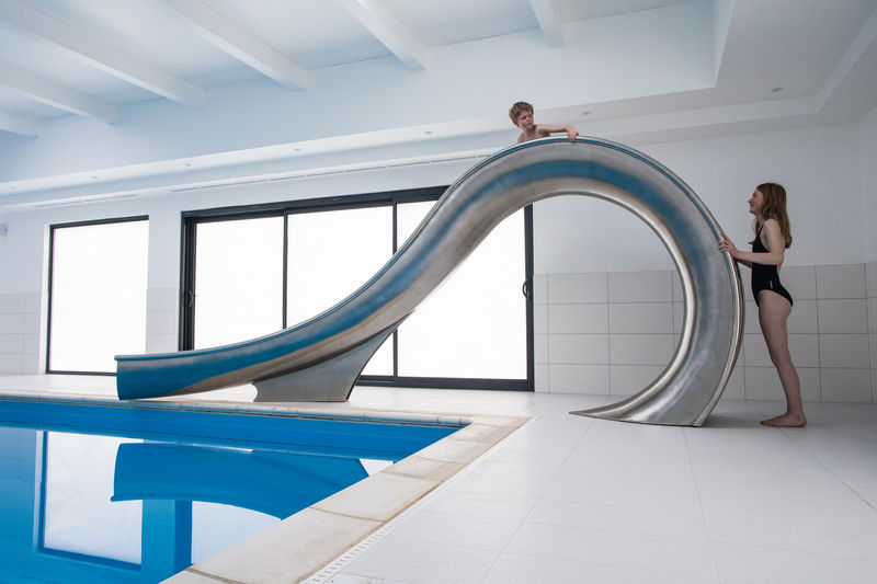 Stainless Steel Water Slides