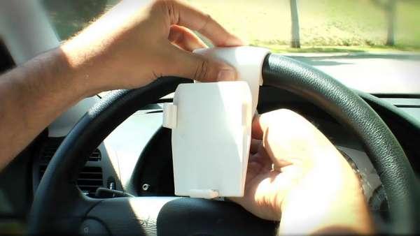 Steering Wheel Smartphone Docks