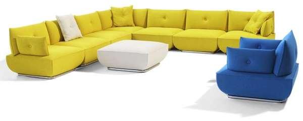 Modular Cushion Couches