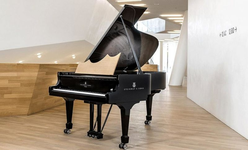 Architecturally Inspired Pianos