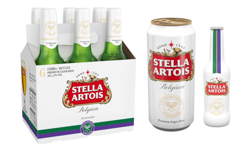Tennis-Celebrating Beer Branding