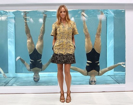 Synchronized Swimwear Stunts