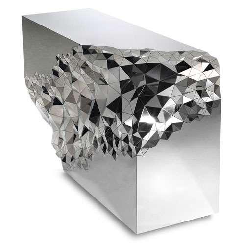 Geometrically Mirrored Furniture