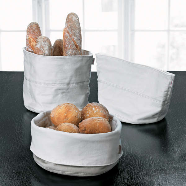Stylishly Portable Bread Baskets