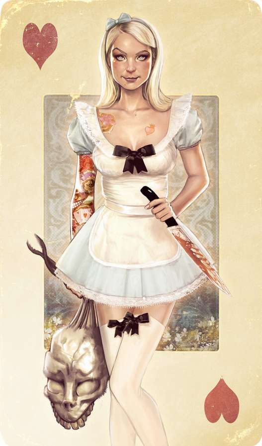 Twisted Alice Illustrations