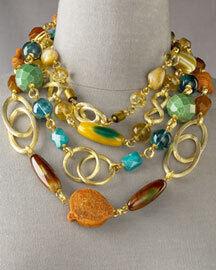 Stephen Dweck Four-Strand Necklace
