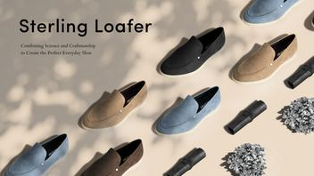 Bespoke Antimicrobial Shoes - Anther's Sterling Loafer Combine Science and Craftsmanship (TrendHunter.com)