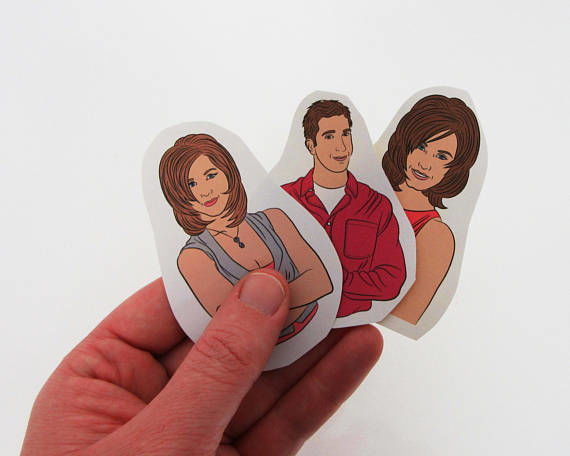 90s Sitcom Stickers
