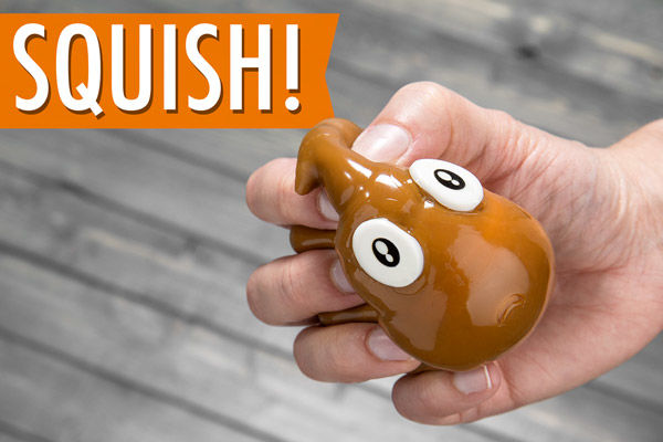 Squishy Poop-Themed Toys