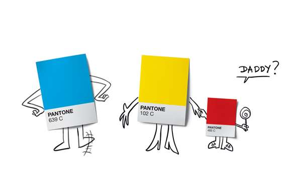 Comical Color Theory Campaigns
