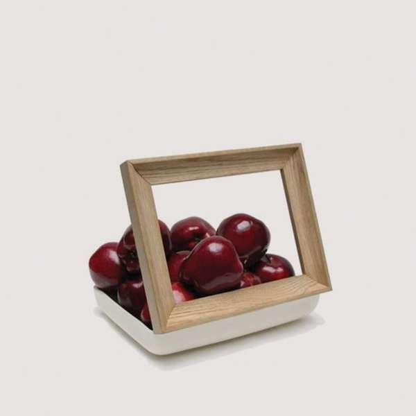 Framed Fruit Art