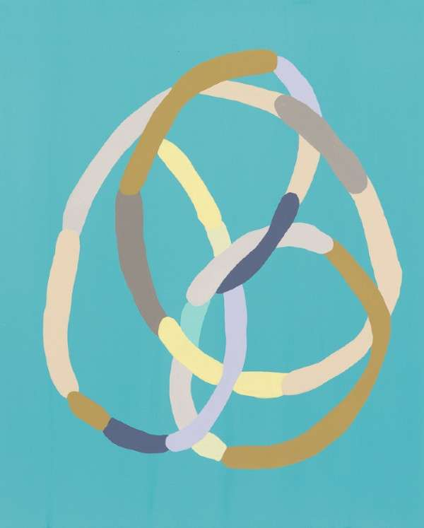 Colorfully Looping Paintings