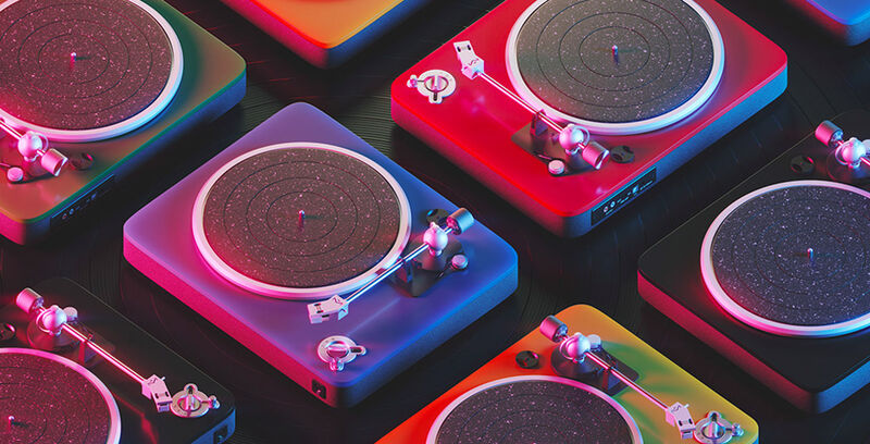Chicly Sustainable Turntables