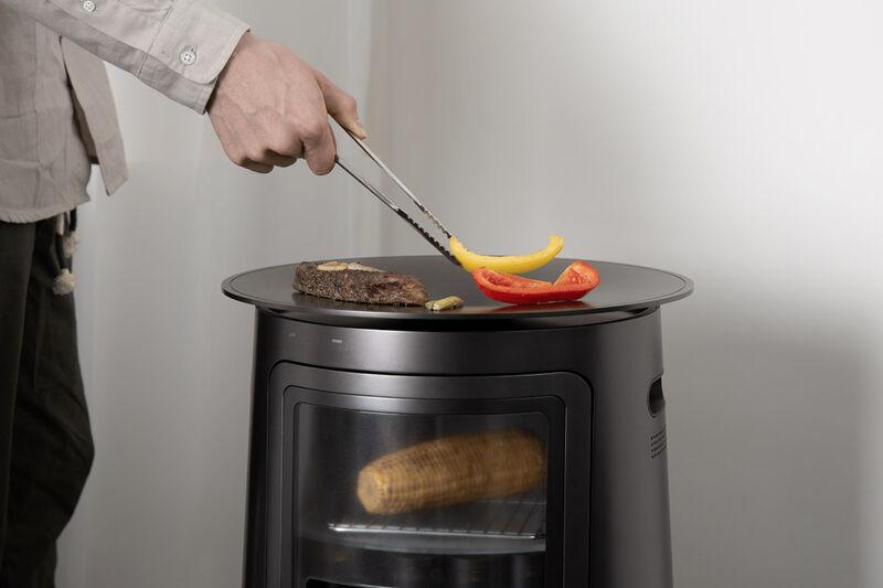Indoor Open-Concept Cookers