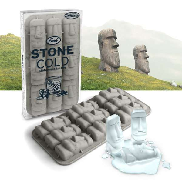 Easter Island Ice Cubes