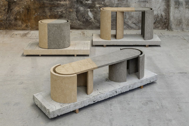 Meticulously Crafted Stone Furniture