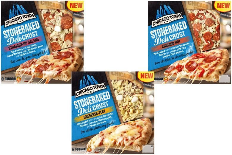 American-Style Frozen Pizzas