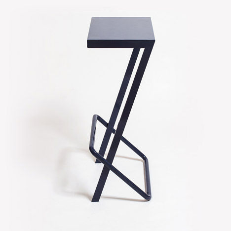 Sleek Numerical Stools