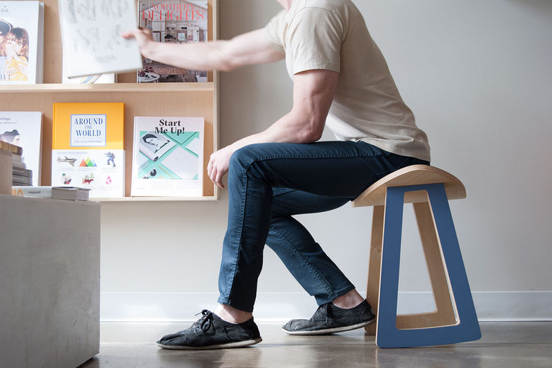 Ergonomic Tilting Stool Chairs